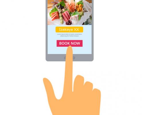 Online Restaurant Reservation in Japan