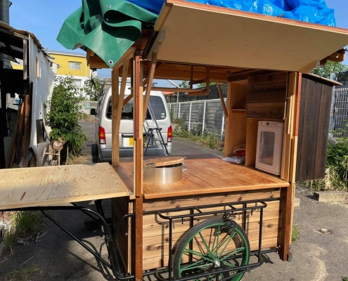 ramen food stall