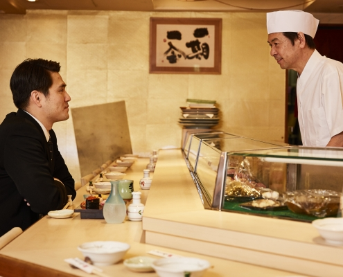 How to recruit a Japanese chef
