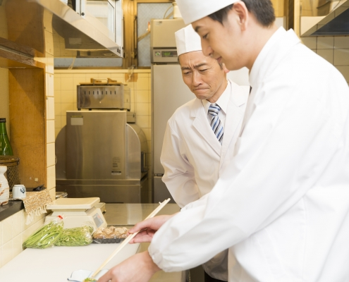 How to retain a Japanese chef