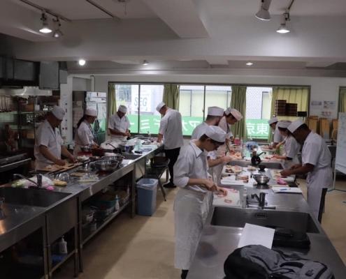 Yakitori classroom