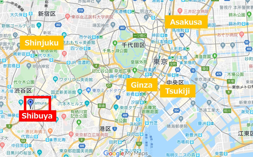 Shibuya Location