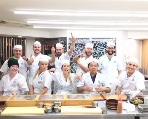 4weeks Sushi Course at Tokyo Sushi Academy