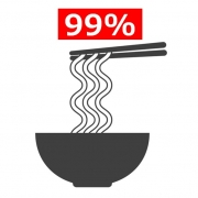 99% Japanese loves noodles