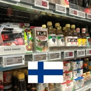 Japanese Grocery Stores in Finland