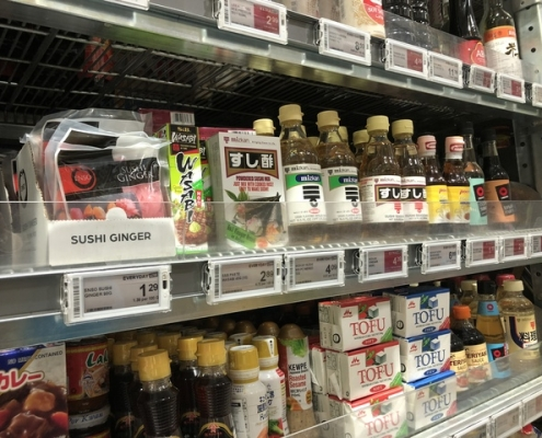 Japanese grocery stores and food suppliers