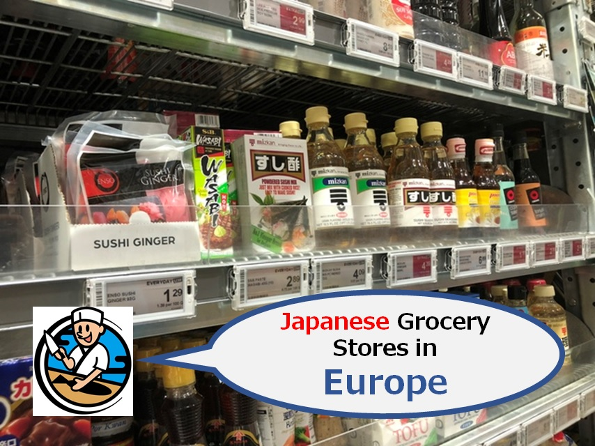 Japanese Grocery Stores in Europe