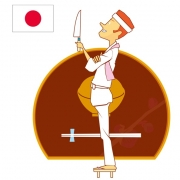 What type of visa is required to work at a restaurant in Japan?