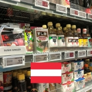 Japanese Grocery Stores in Austria