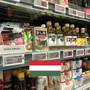 Japanese grocery stores in Hungary