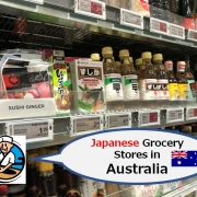 Japanese Grocery Stores in Australia
