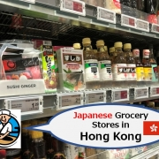 Japanese Grocery Stores in Hong Kong