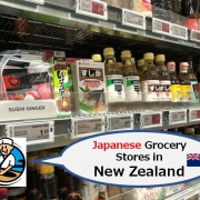 Japanese Grocery Stores in New Zealand