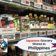 Japanese Grocery Stores in Philippines