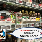 Japanese Grocery Stores in South Korea