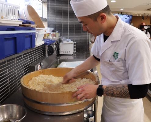 Hangiri at Tokyo Sushi Academy