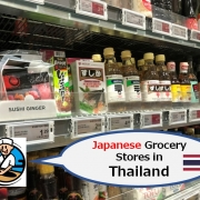 Japanese Grocery Stores in Thailand