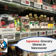 Japanese Grocery Stores in Vancouver