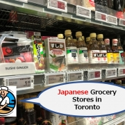 Japanese Grocery Stores in Toronto