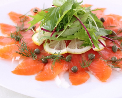 Salmon Carpaccio