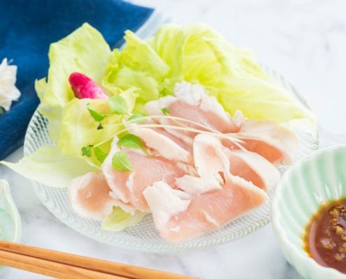 Torisashi Chicken Sashimi