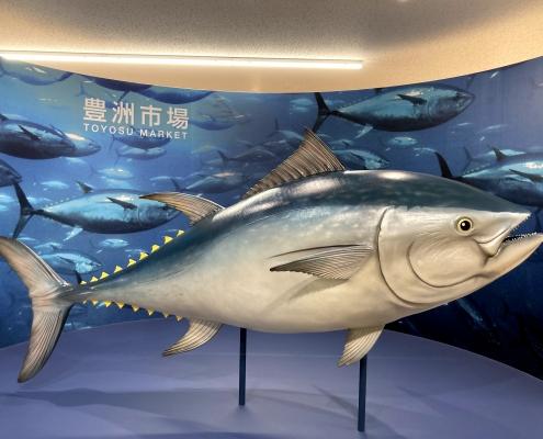 The statue of the biggest tuna