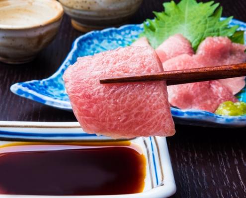 Southern bluefin tuna sashimi