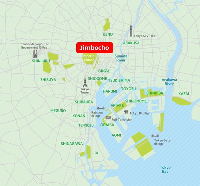 Jimbocho Map