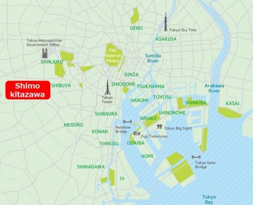 Shimokitazawa Map