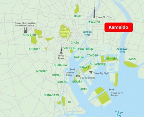 kameido Map