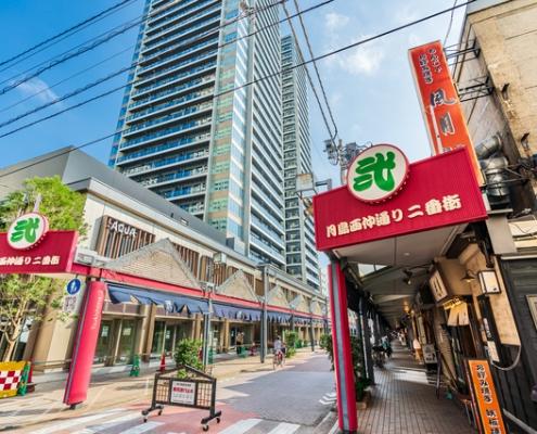 Tsukishima Monjayaki Town