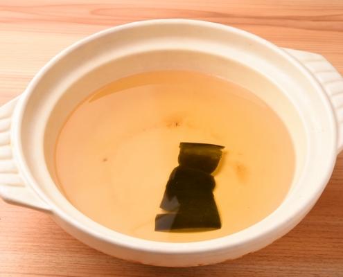 Kombu Kelp Soup Stock
